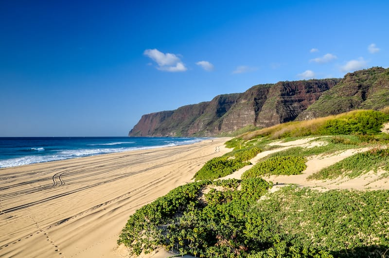 Beaches in Polihale State Park