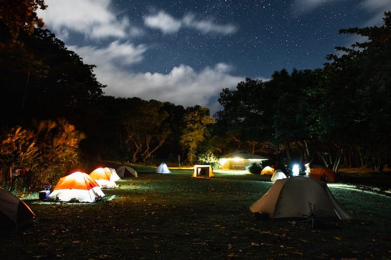 Camping in Wai'anapanapa State Park