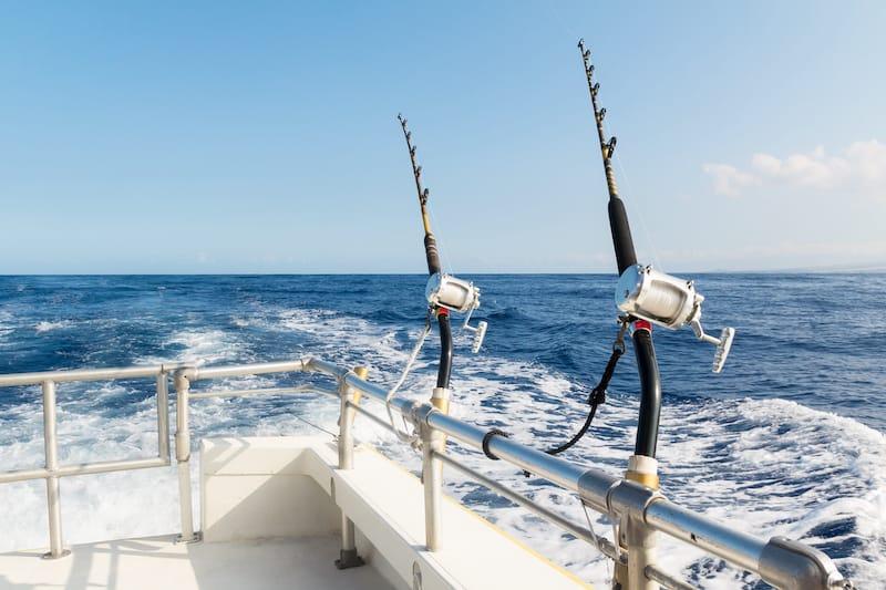 Fishing off of the Big Island