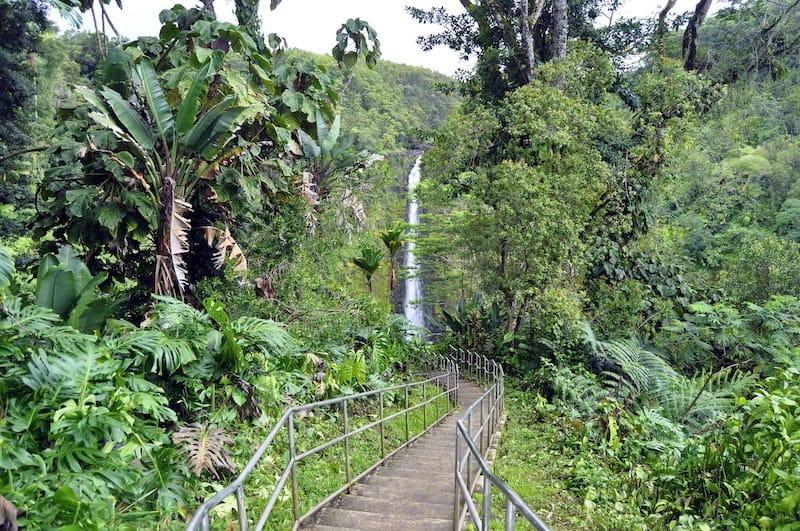 How to visit Akaka Falls