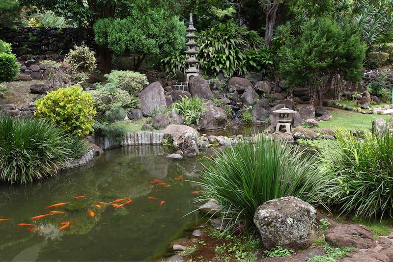 Iao Valley Japanese garden