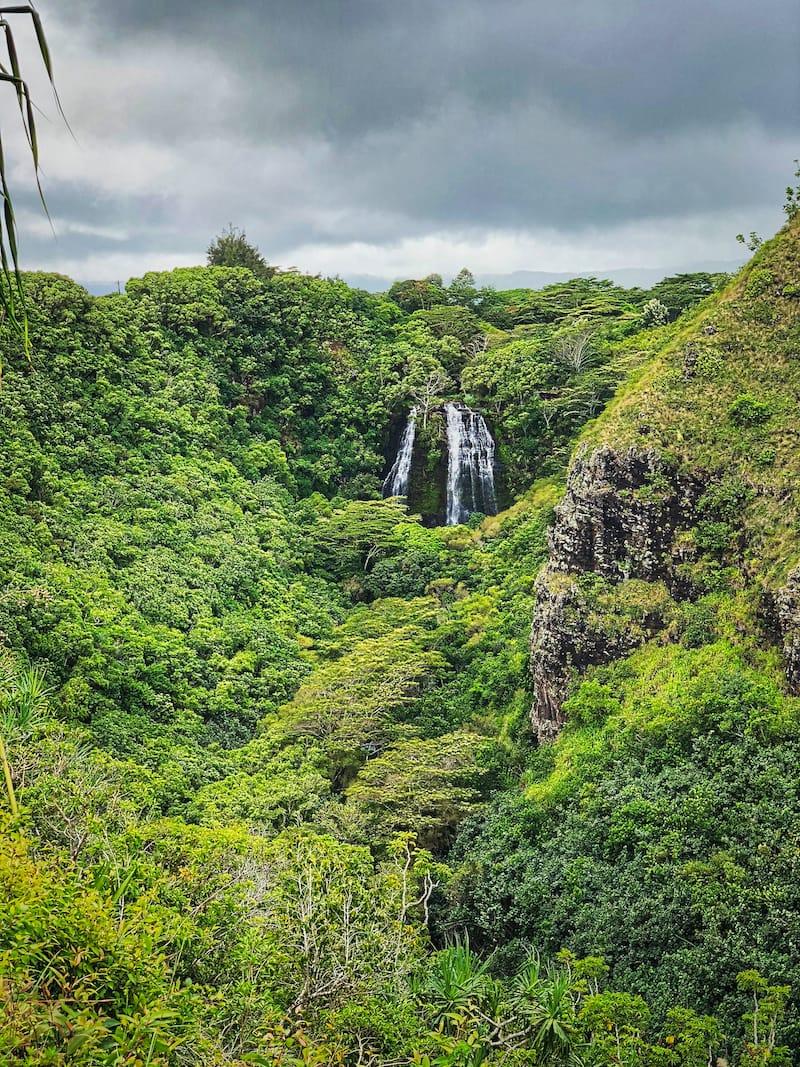 Kahuna Falls in Akaka Falls State Park