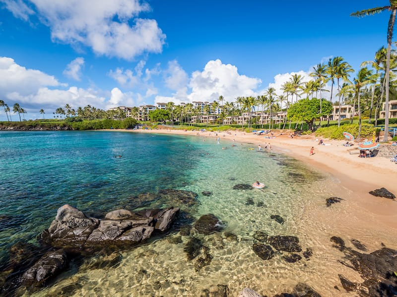 Kapalua Beach - arkanto - Shutterstock.com