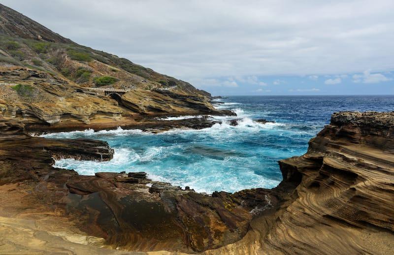 Lanai Lookout in Hawaii