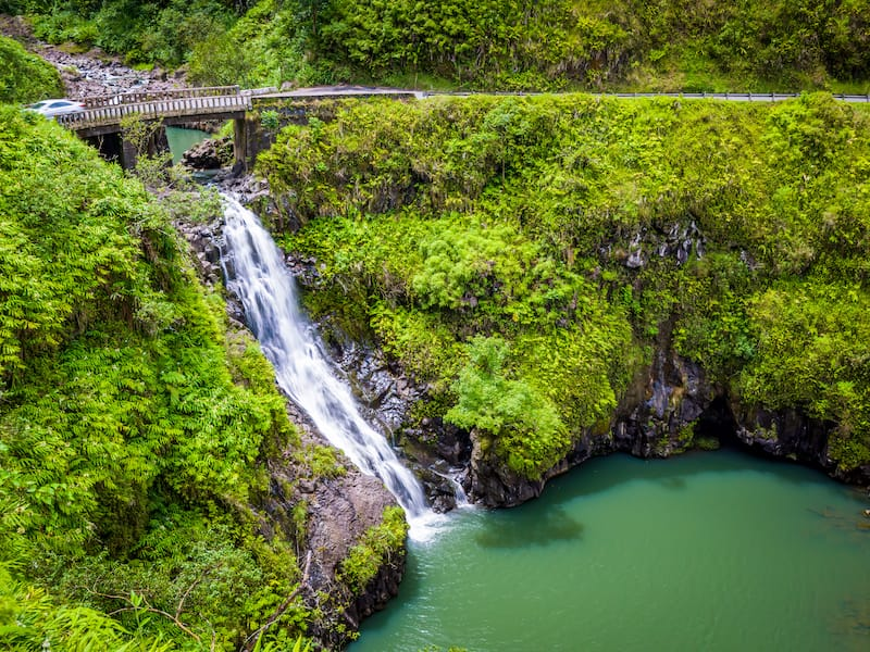 Wailua Iki Falls (Wailuaiki)