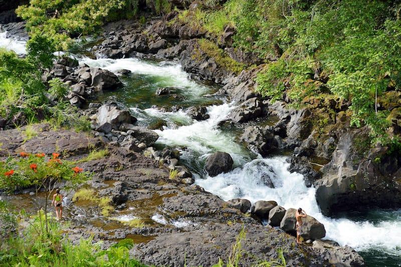 Wailuku River State Park - Peepee Falls