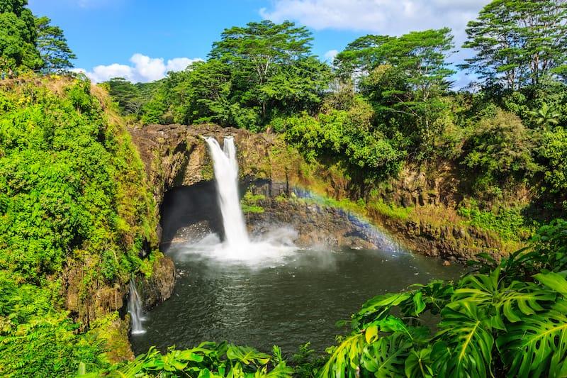 Wailuku River State Park - Rainbow Falls