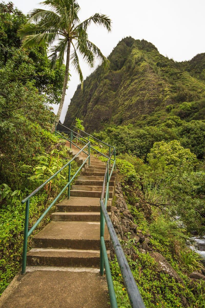Walking path Iao Valley