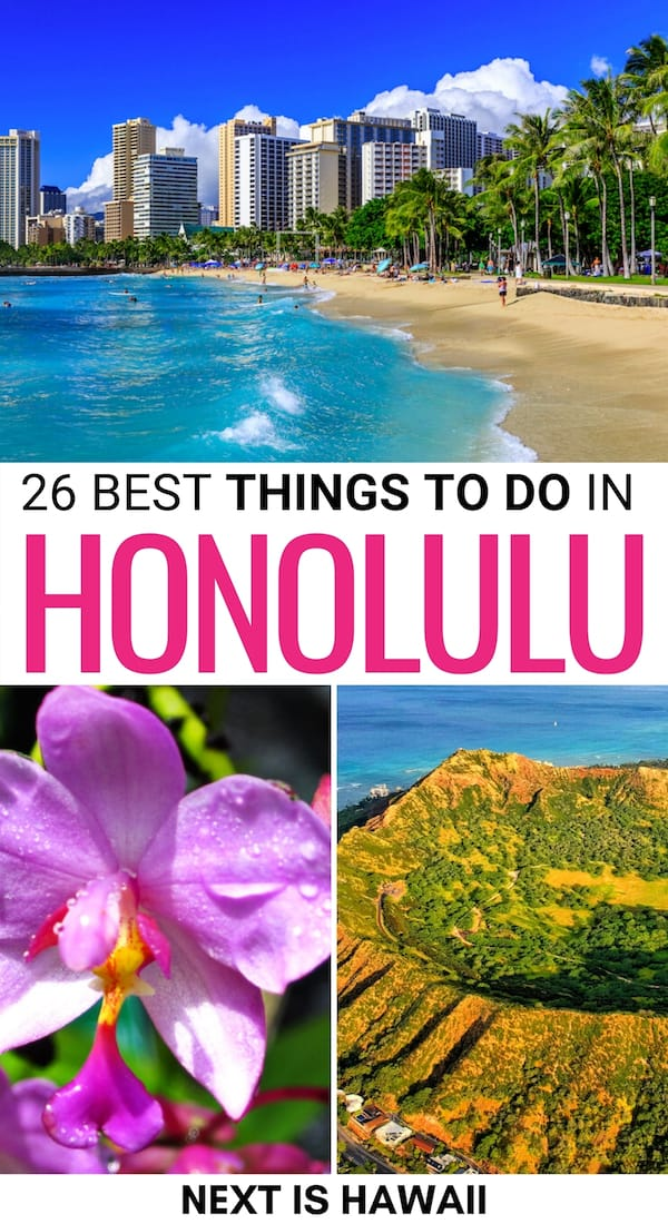 There are so many amazing things to do in Honolulu for first-time visitors that you really need to plan ahead! This guide of Honolulu attractions will help!   Honolulu things to do   What to do in Honolulu   Honolulu itinerary   Places to visit in Honolulu   Honolulu museums   Honolulu hiking   Hiking in Honolulu   Honolulu beaches   Honolulu landmarks   Attractions in Honolulu   Honolulu restaurants   Honolulu craft beer