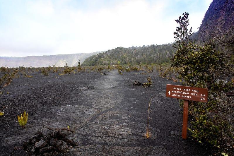 Byron Ledge Trail - NPS Photo:Janice Wei
