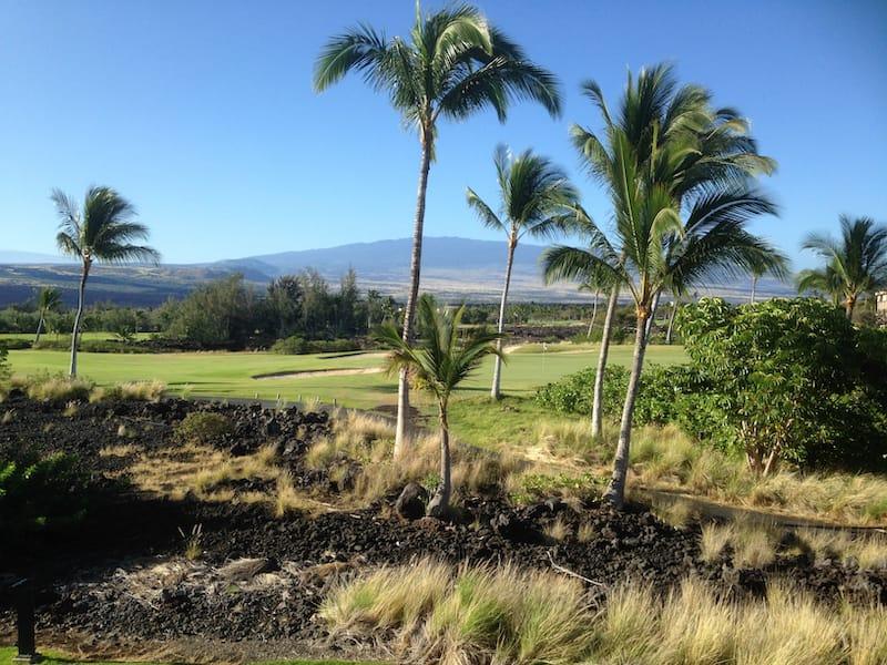 Golfing in Waikoloa