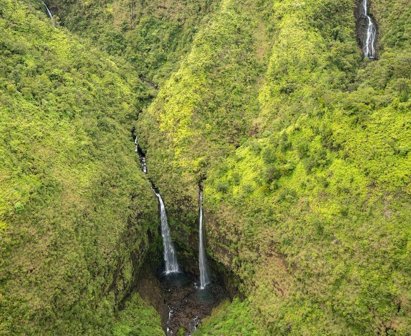 Mount Waialeale Falls