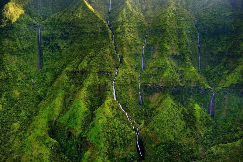 Prettiest Kauai waterfalls