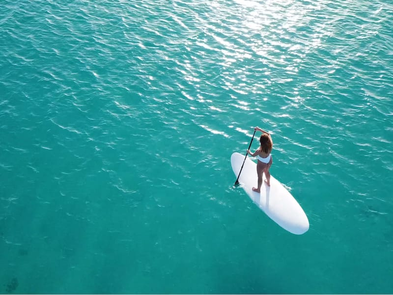 SUP in Maui