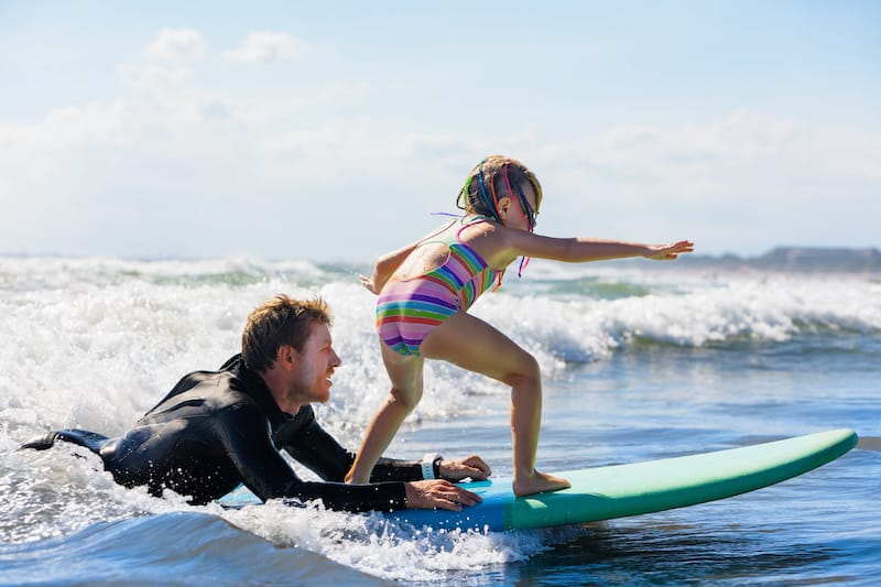 Surf lesson in Lahaina