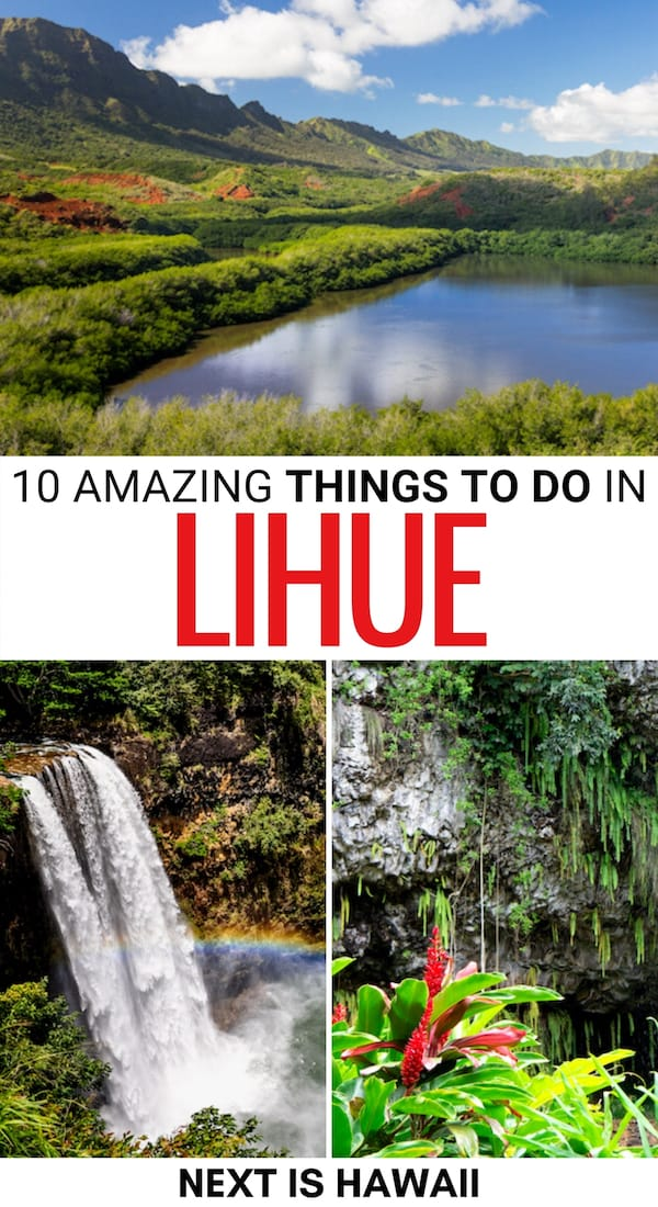 There are many things to do in Lihue during your trip to Kauai. This guide discusses attractions in Lihue (and nearby) and places to eat in the city. | Lihue things to do | Places to visit in Lihue | Places to visit in Kauai | Things to do in Kauai | Kauai landmarks | Kauai attractions | Kauai museums | Kauai hiking | Kauai restaurants | Kauai beaches | Kauai parks | What to do in Kauai