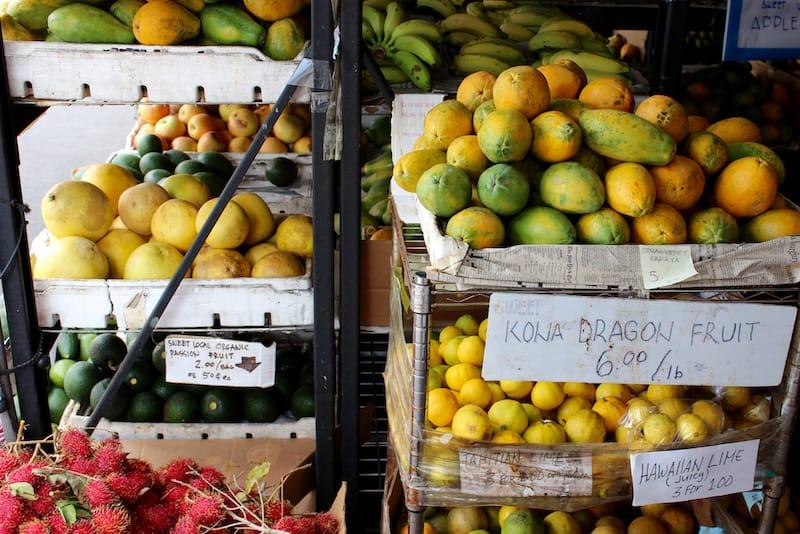 Kona Farmer's Market