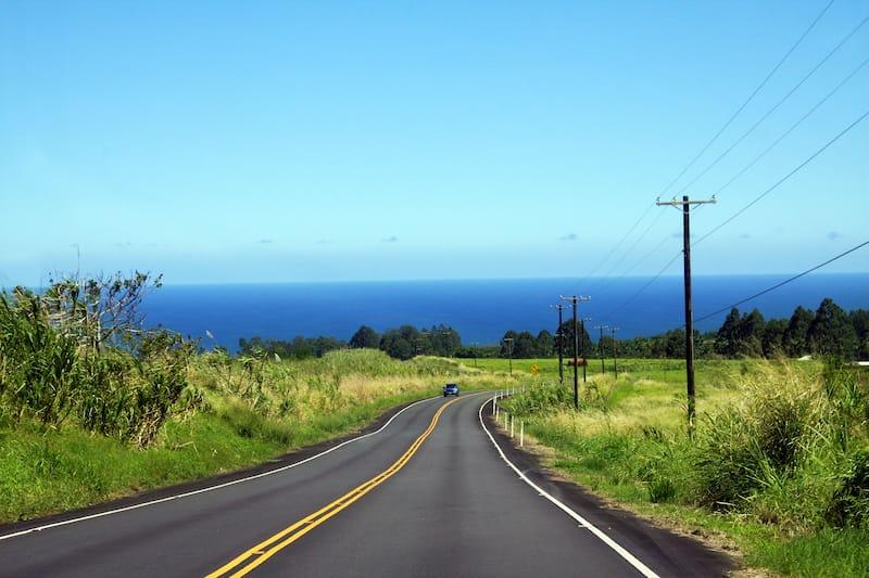 Renting a car on the Big Island