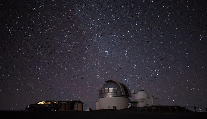 Stargazing in Mauna Kea